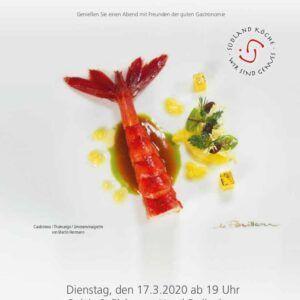 Feinschmecker Abend<br>17. März 2020<br>19:00 Uhr