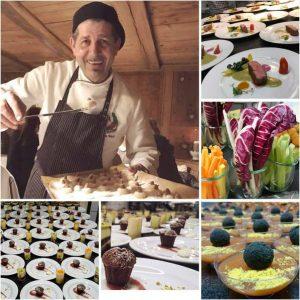 Küchenparty in der Gude Stub Casa Antica mit Andrea Alesi